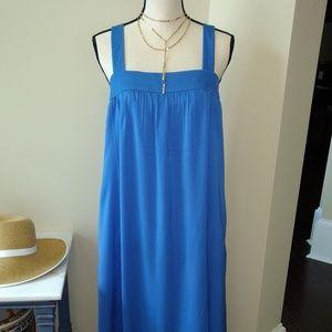 Jcrew Factory Azure Maxi dress sz 6